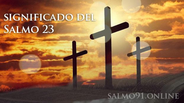 Salmo 23 oración para estar en contacto con Dios